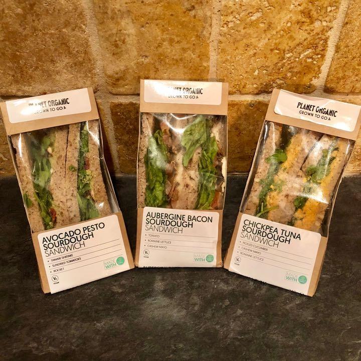 🌱Vegan Sandwiches by Planet Organic🌱