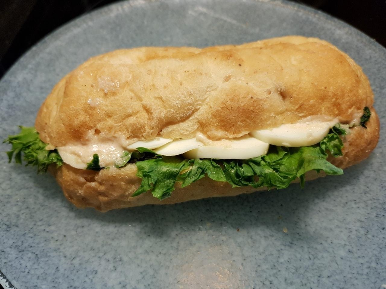 Egg sandwich from Caffe Nero Torsplan