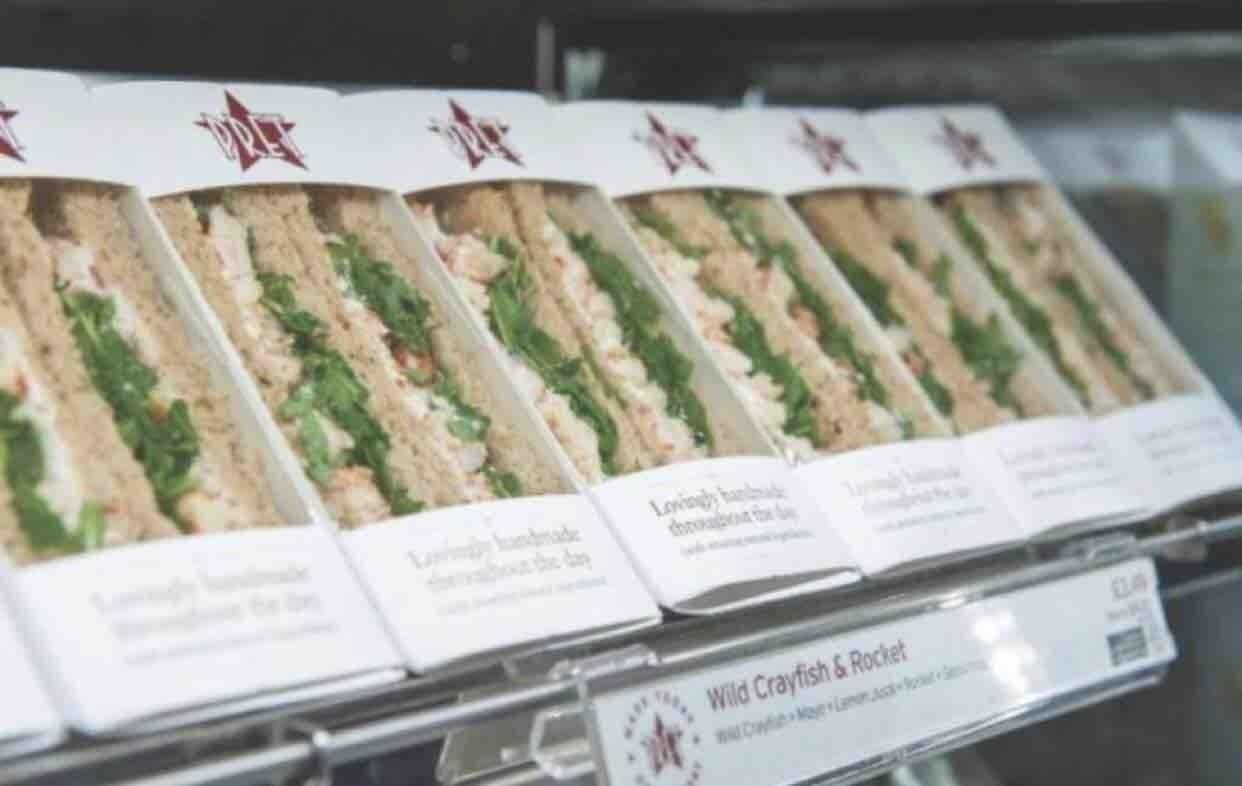 PRET A MANGER free-range egg mayo sandwich