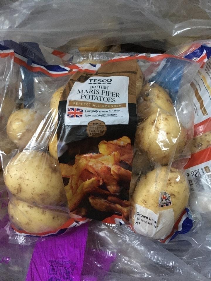 Lots of potatoes! 🥔 🥔 🥔