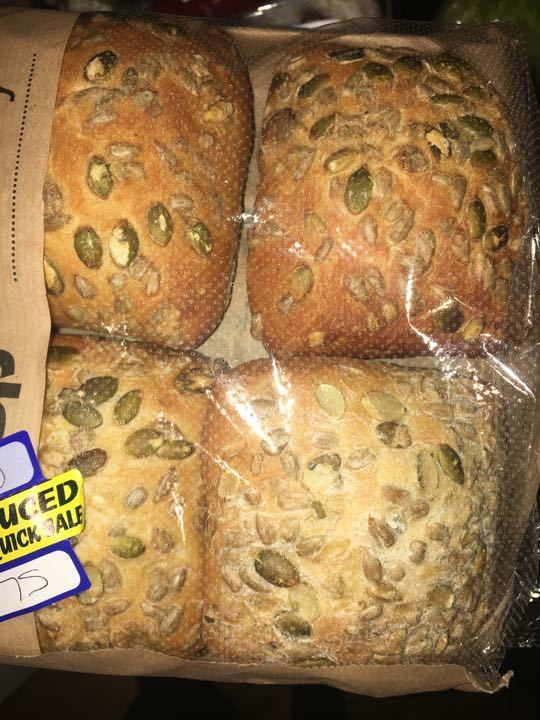 4 seeded rolls