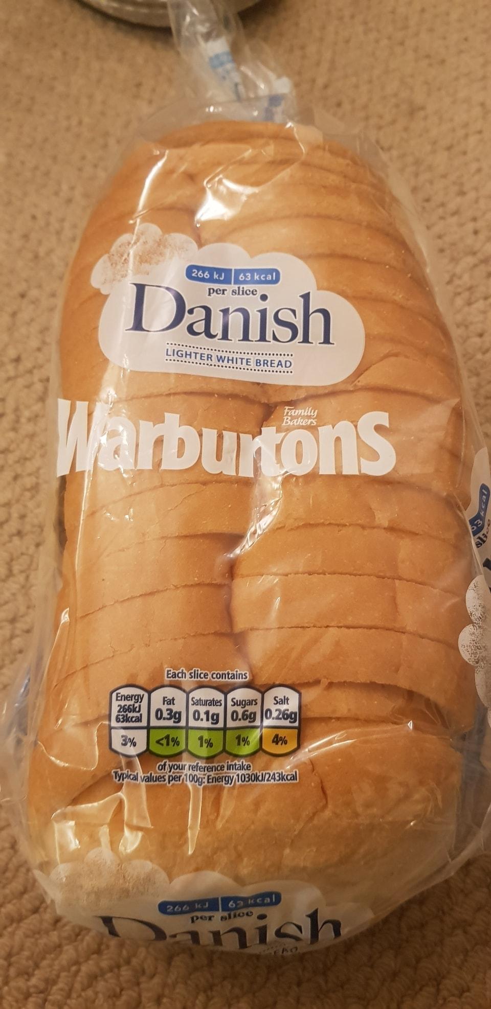 Warburtons Danish Loaf