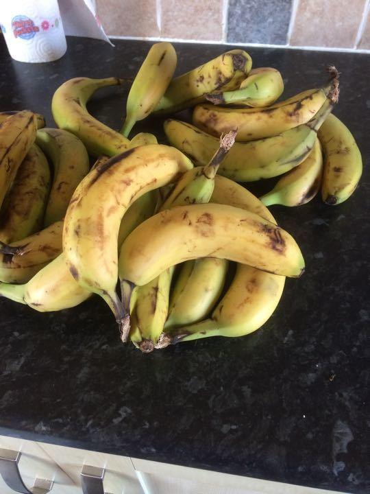7 bananas x 2 lots