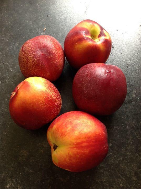 Bag of 5 peaches