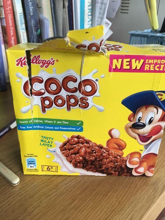 Coco pops bars