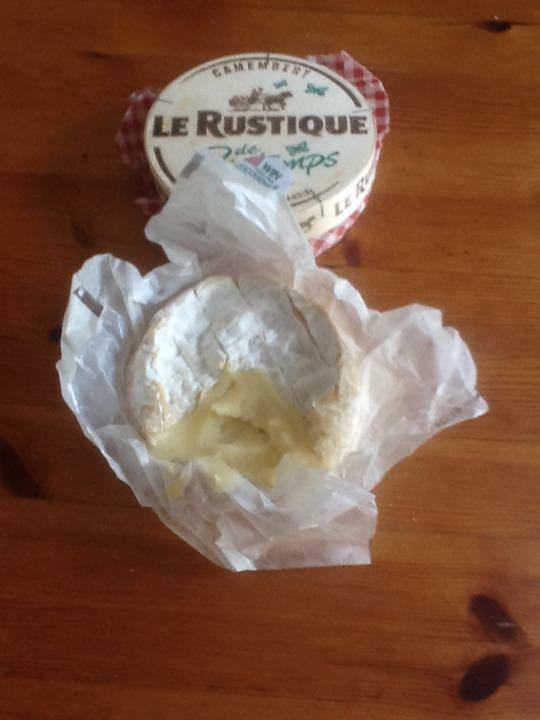 Very ripe strong Camembert