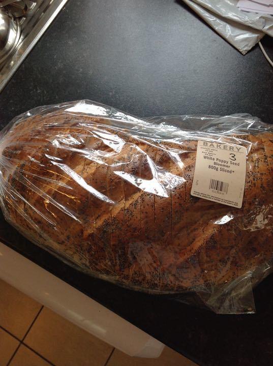 White sliced bread 800g