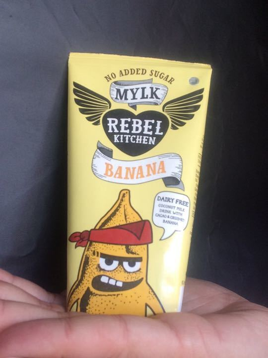 1000s of Rebel Kitchen banana flavour coconut drinks