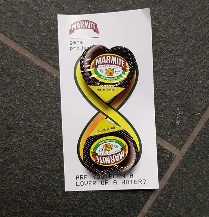 A LOT of Marmite! Edinburgh International Conference Centre - 3-5pm TODAY 25th