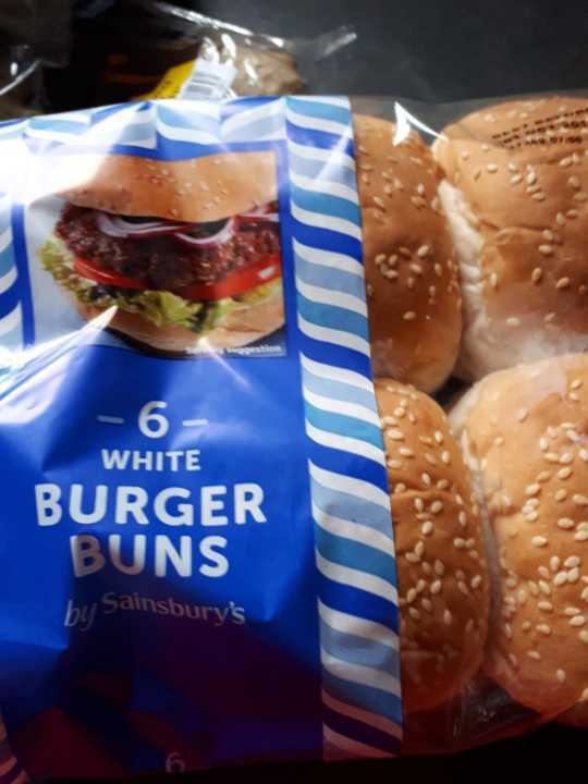 6x burger buns