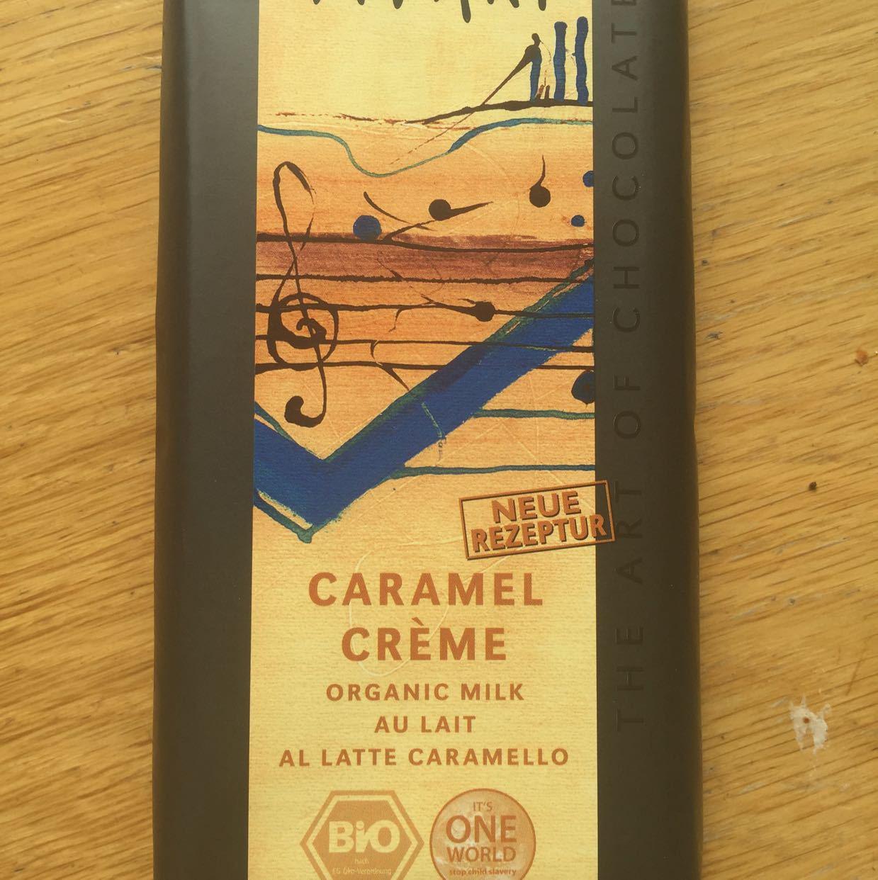 Organic Milk Chocolate and Caramel bar