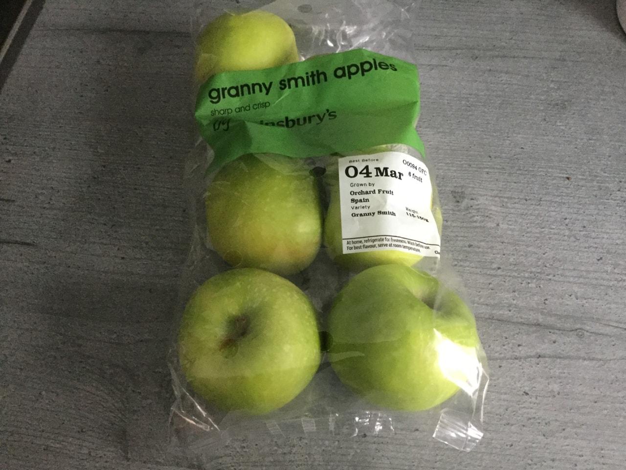 Granny Smith apples 🍏