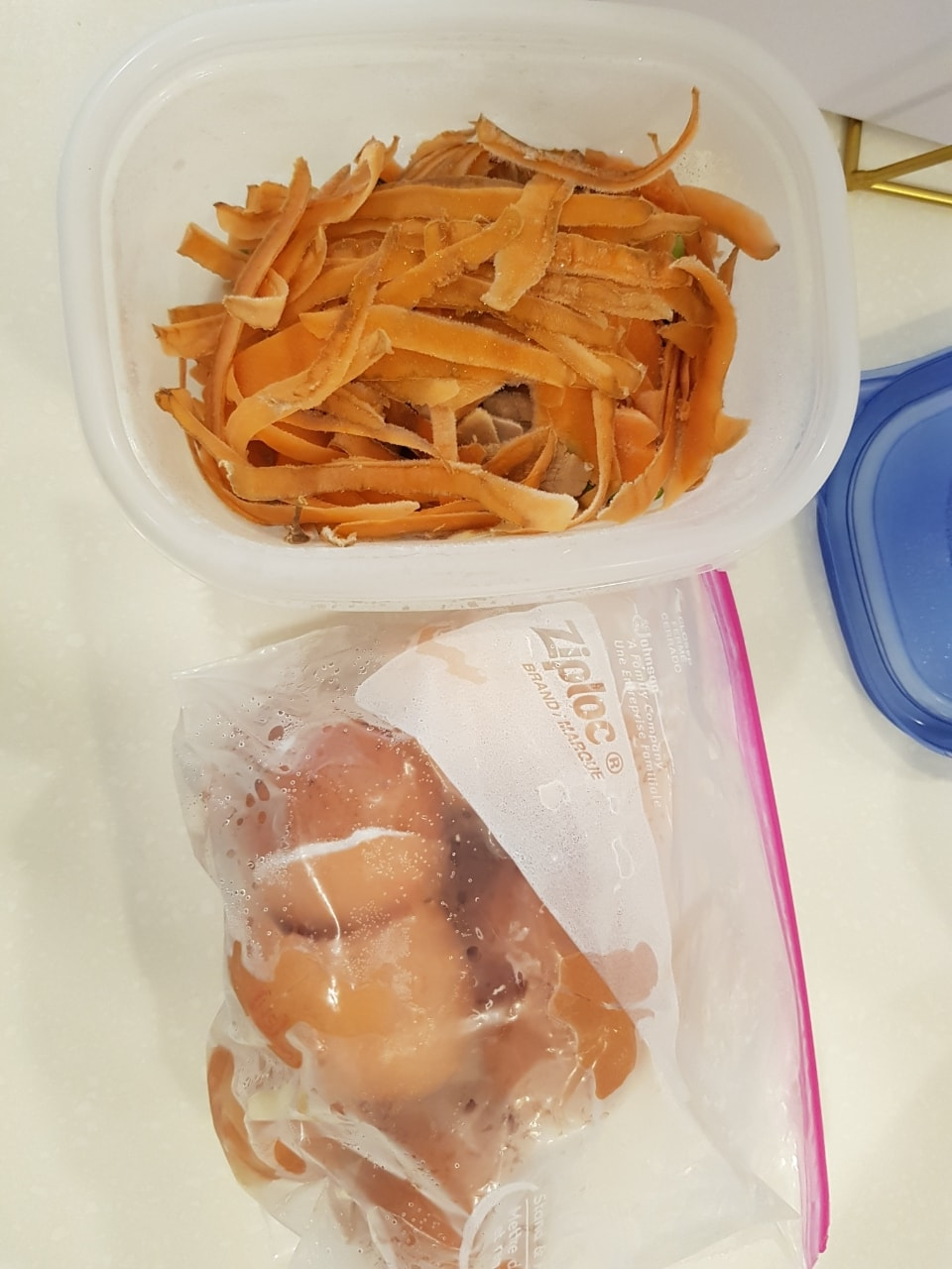 Vegetable and fruit scraps for anyone who is composting