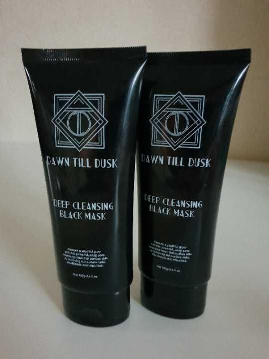 2x Deep Cleansing Charcoal Face Masks