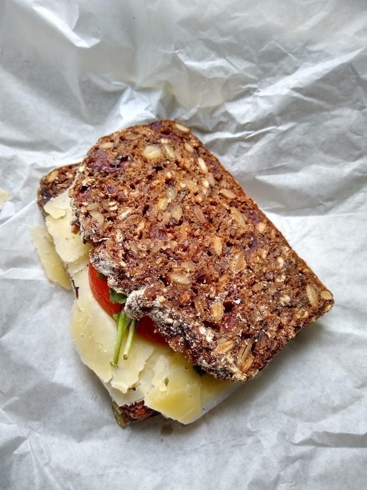 4 Veg sandwiches