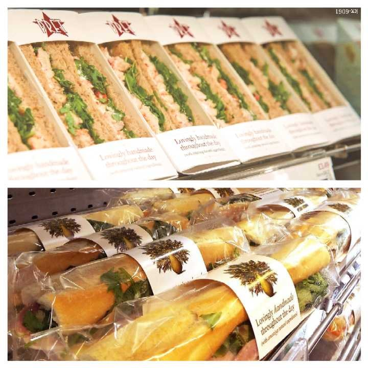 PRET Sandwiches and Baguettes, Etc.