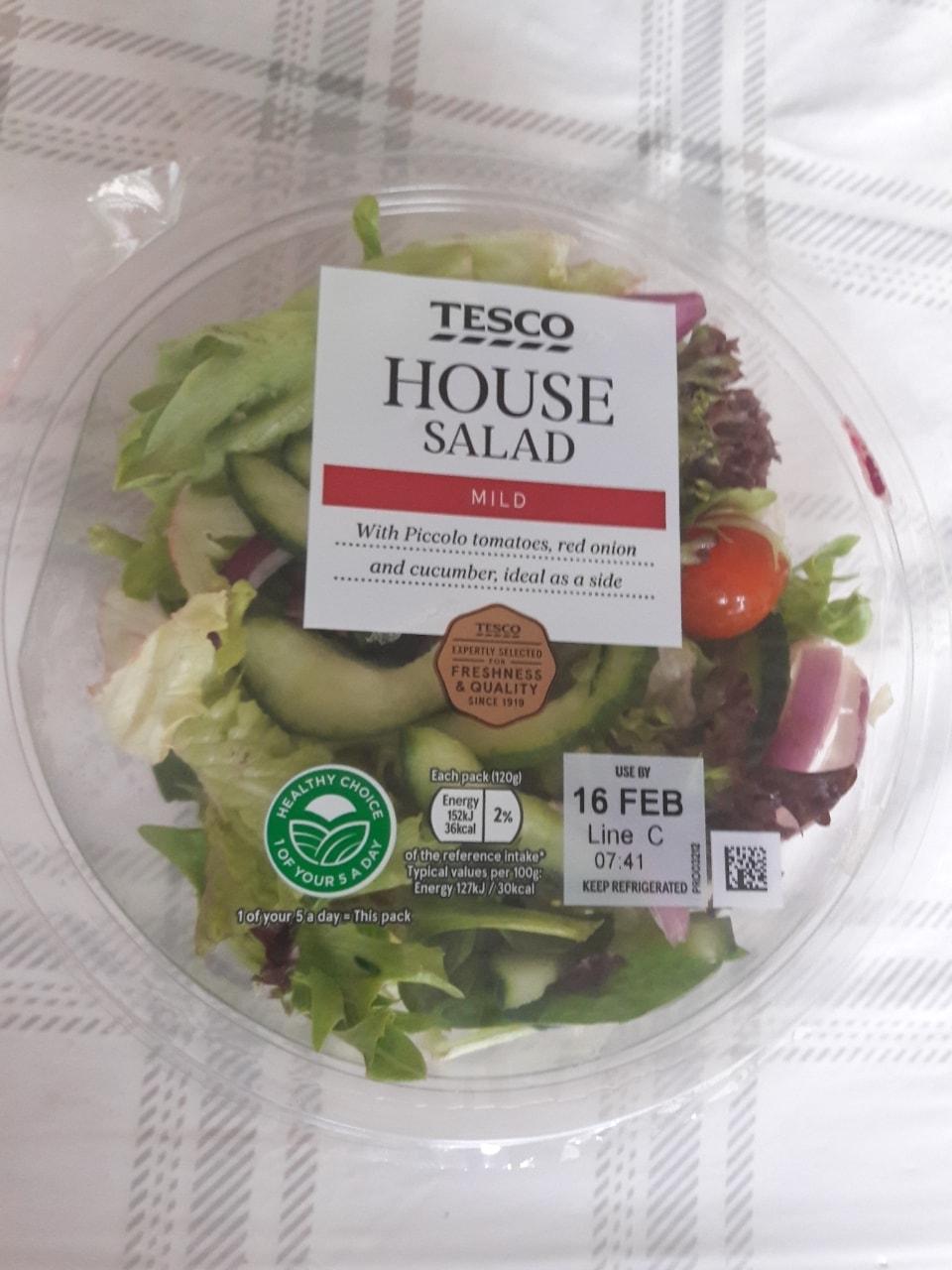House salad bowl