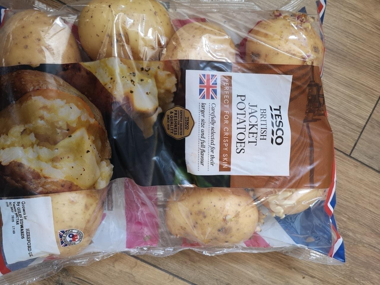 British jacket potatoes