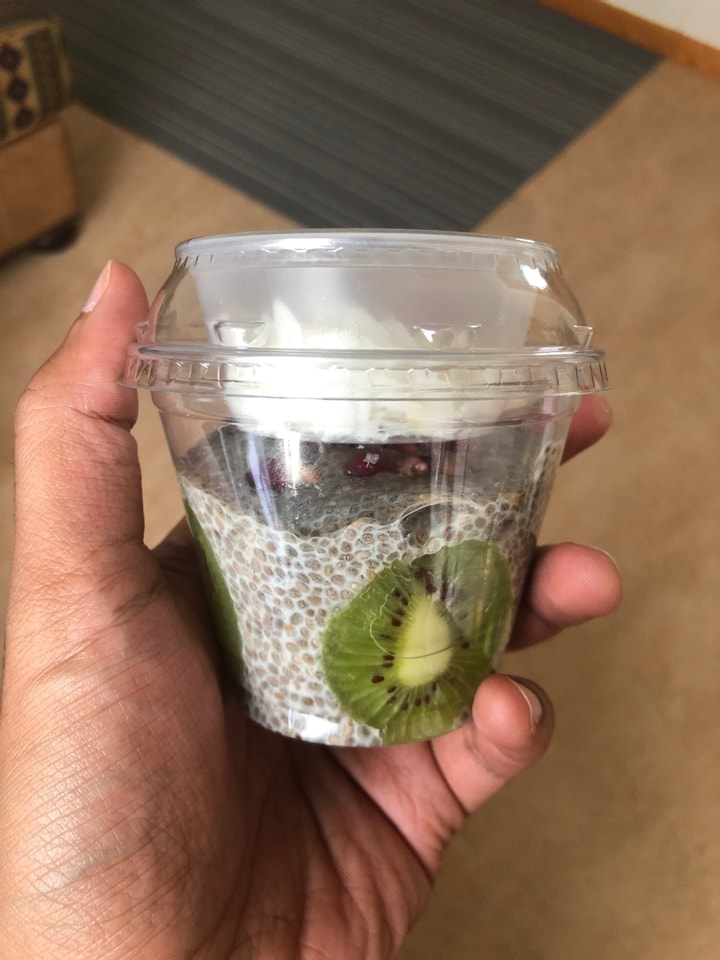 Chia Seed Fruit Snack