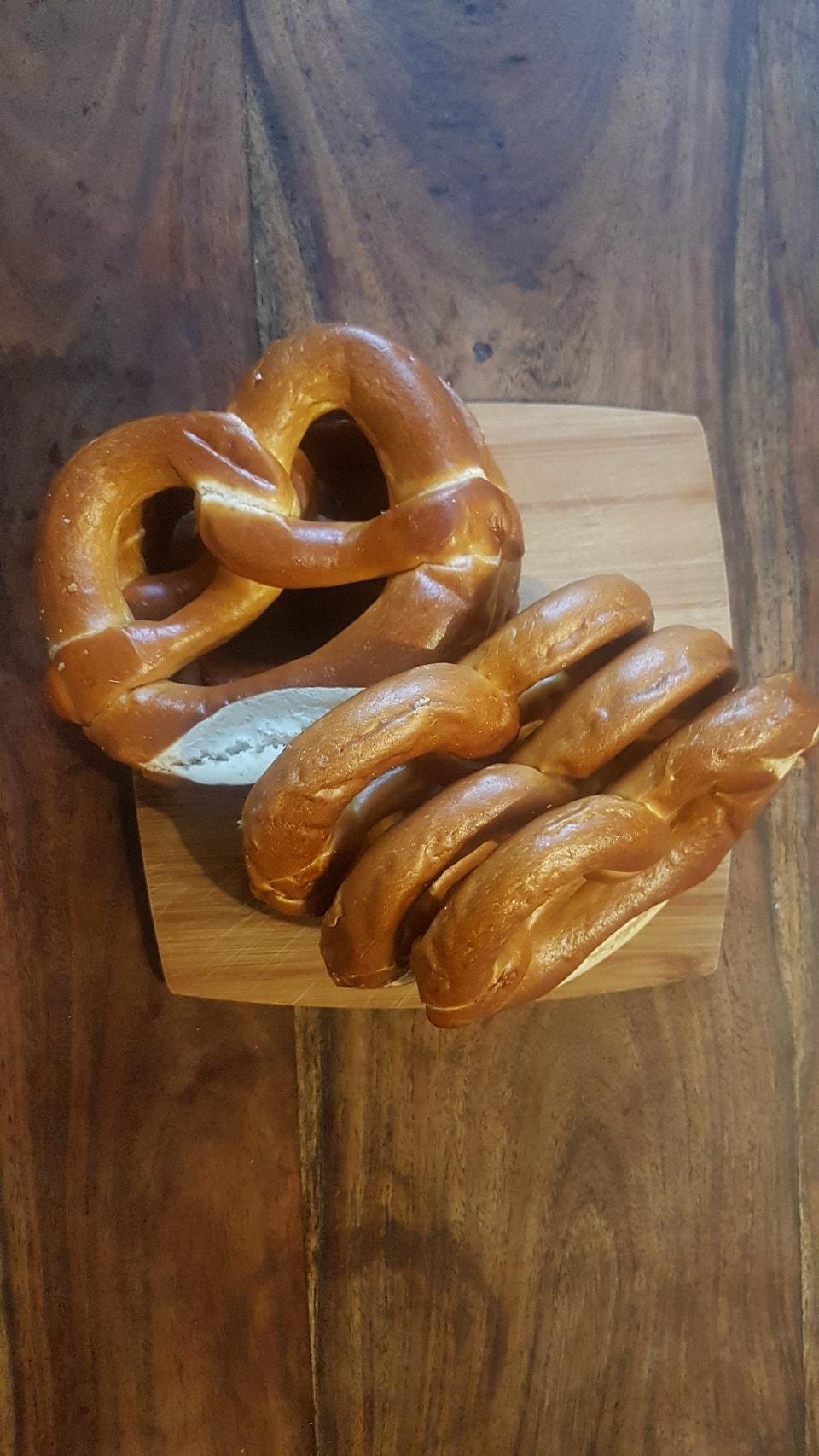 Tesco large pretzels