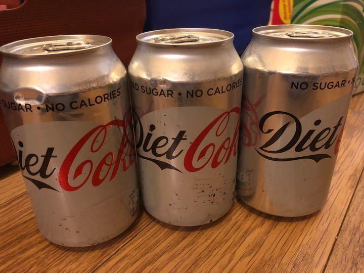 Diet Coke X3