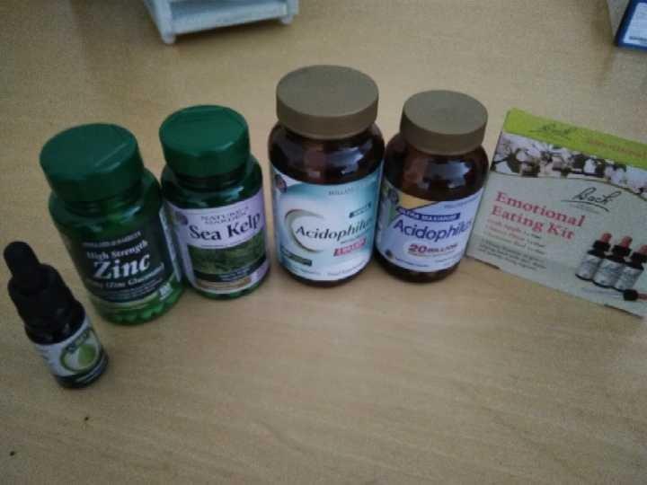 Various herbal items