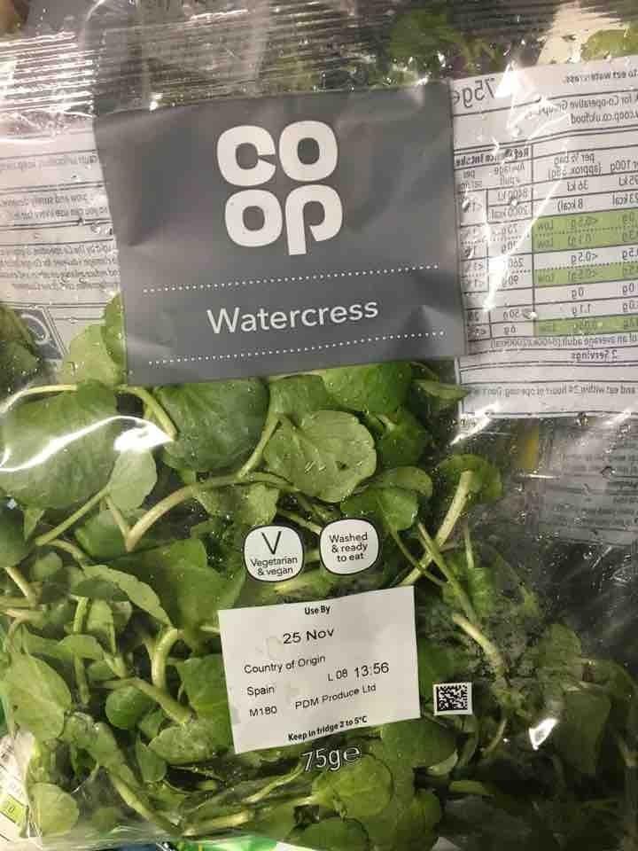 Watercress - collect tonight