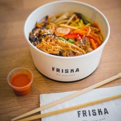 Friska Crispy Pork Pho Noodles