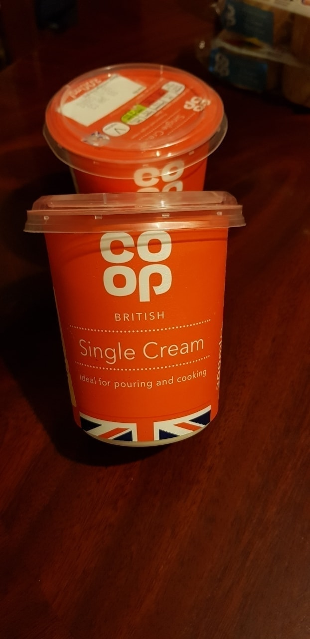 Single cream 300ml