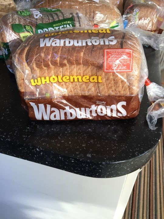 Warburtons wholemeal small