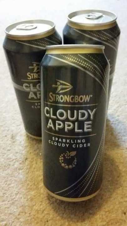 3 x Strongbow Cloudy Apple