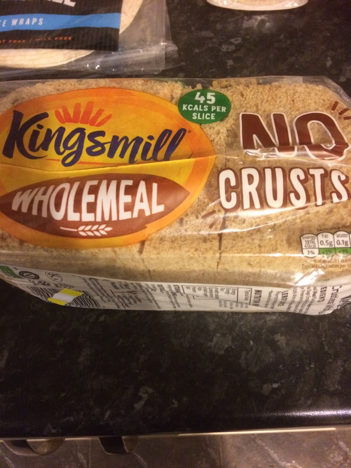 Wholemeal no crusts loaf
