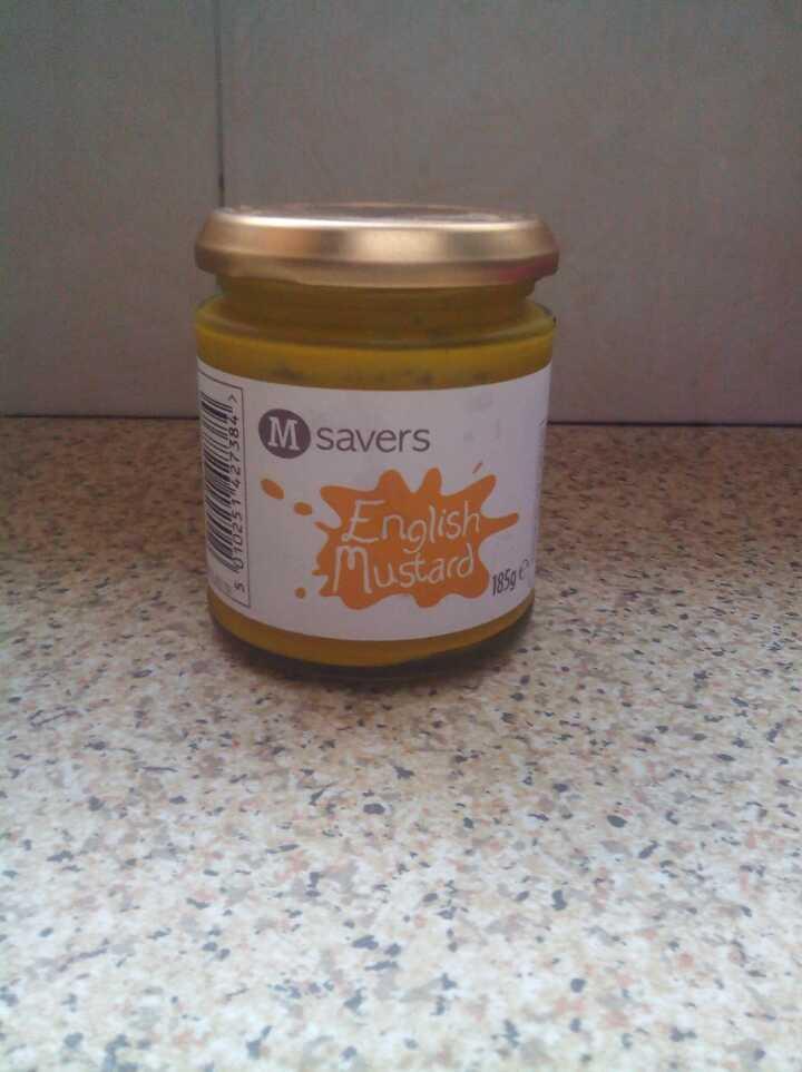 Morrisons english mustard