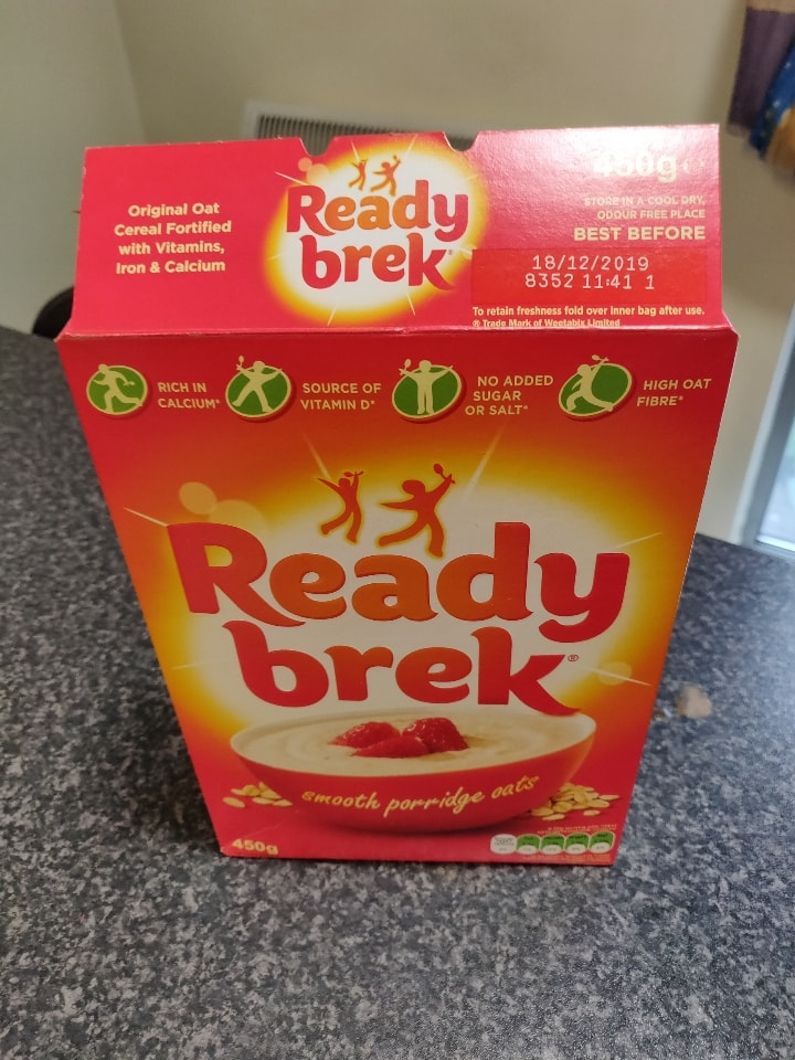 Ready Brek Porridge Oats