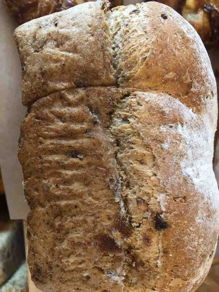 Small grainy farmhouse bread