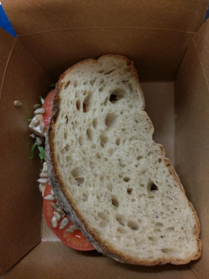 1 veggie levain sandwich