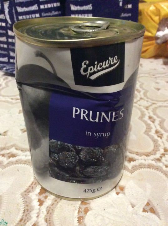 Epicure Pruns in syrup