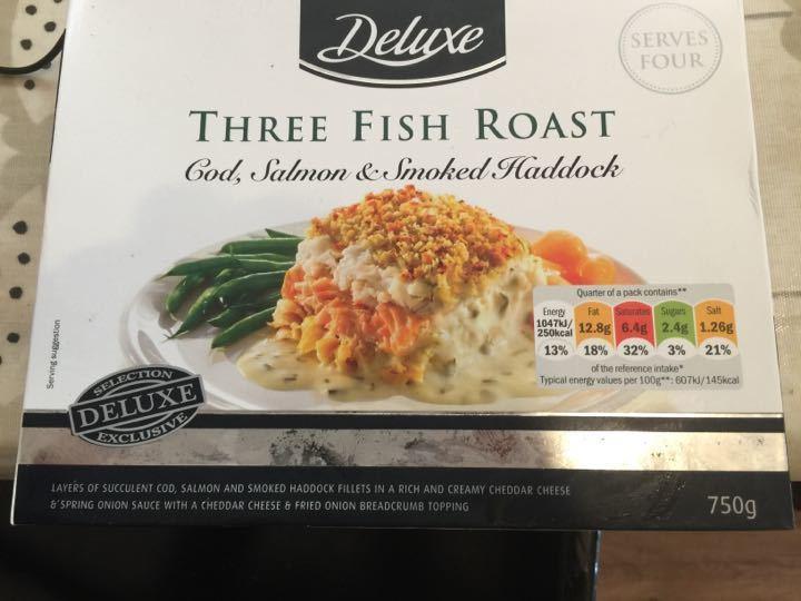 Lidl deluxe 3 Fish Roast