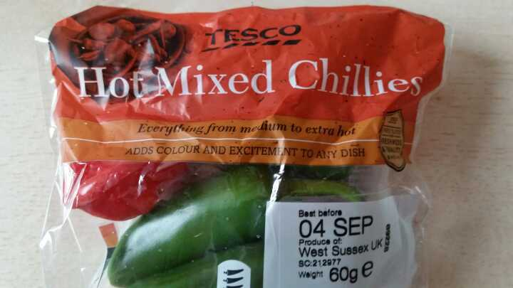 Mixed chillis