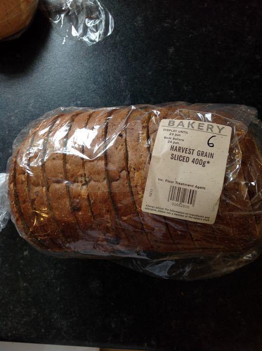 Sliced bread 400g