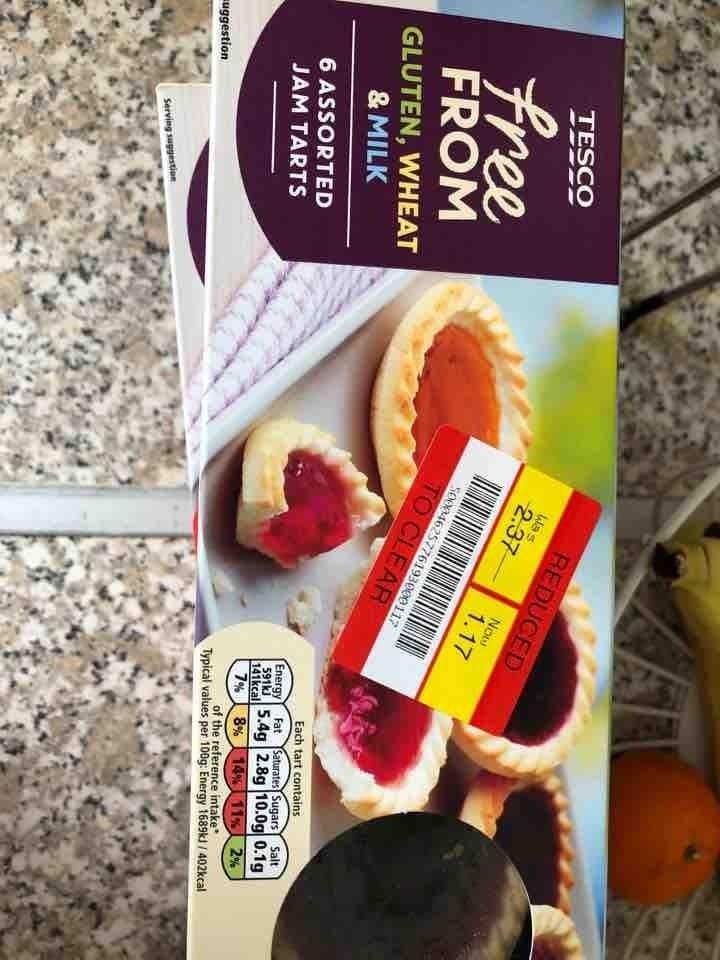 Free from jam tarts