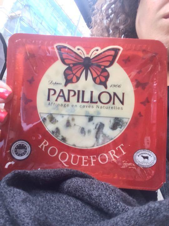Cheese Roquefort papillon