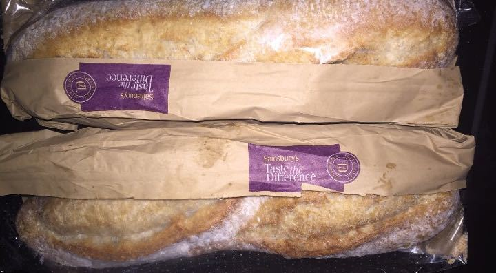 2 soft white baguettes small