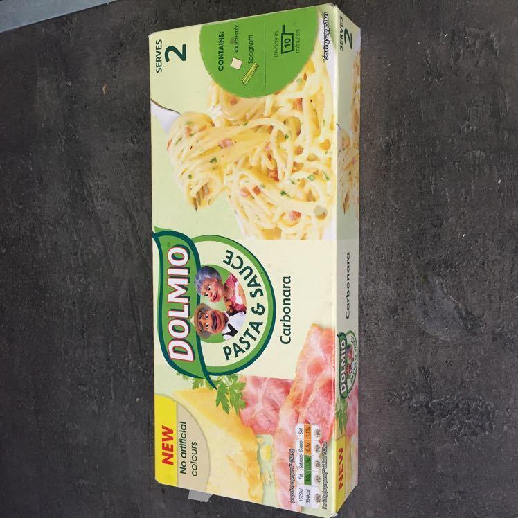 Dry Pastas + carbonara sauce