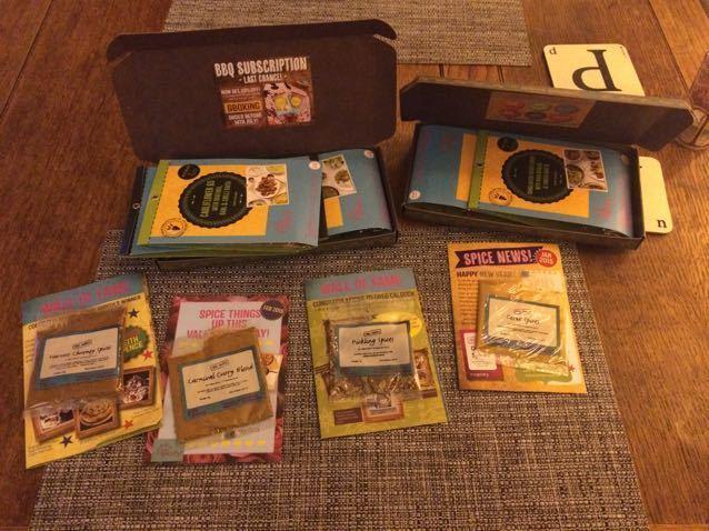 The Spicery spice kits
