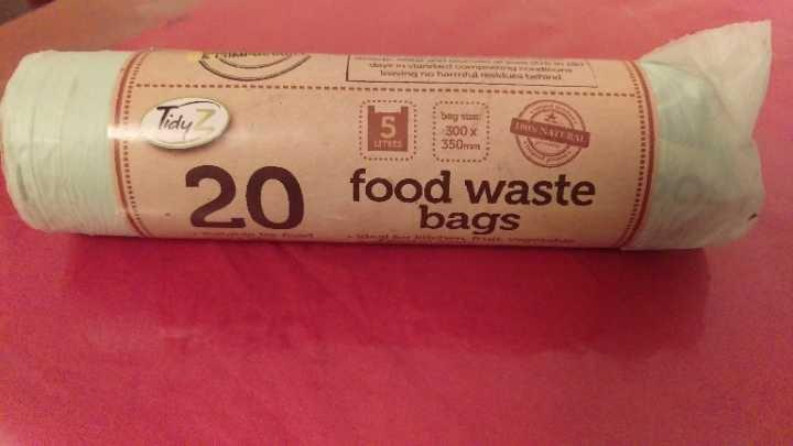 Food waste bags