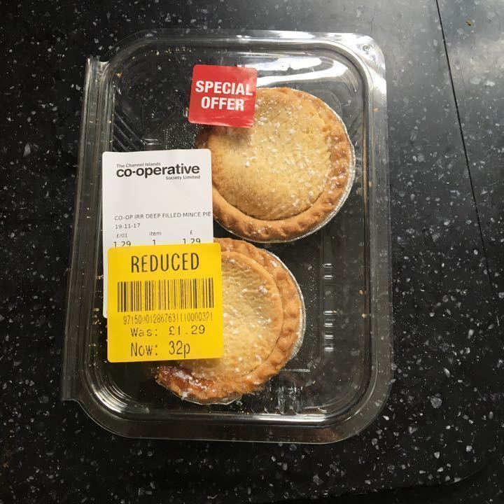2 pack mince pies