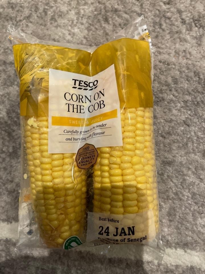 Corn on the cob bnb 24/1/21
