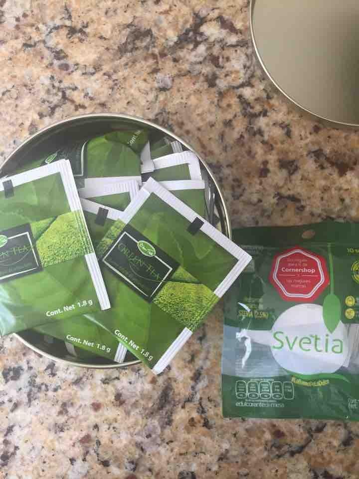 Té Verde y Stevia
