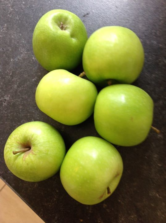 6 Granny Smith apples